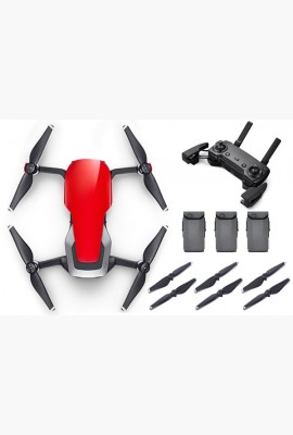 DJI Mavic Air Drone Fly More Combo Flame Red