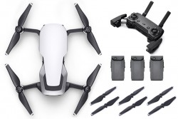 DJI Mavic Air Drone Fly More Combo Artic White