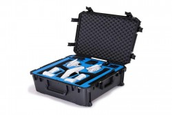 go professional - dji inspire 1 x5 compact landing mode case (fits x3, x5 pro or x5 raw)