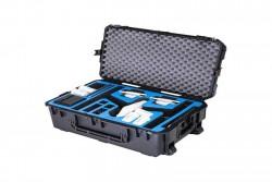go professional - dji inspire 1 x5 travel mode case (fits x3, x5 pro or x5,raw)