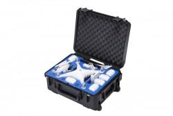 go professional - dji phantom 4 pro compact wheeled case (fits all p4 models)