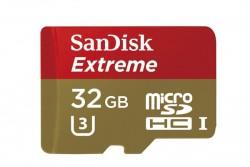 SanDisk Extreme MicroSDHC 32GB Memory Card