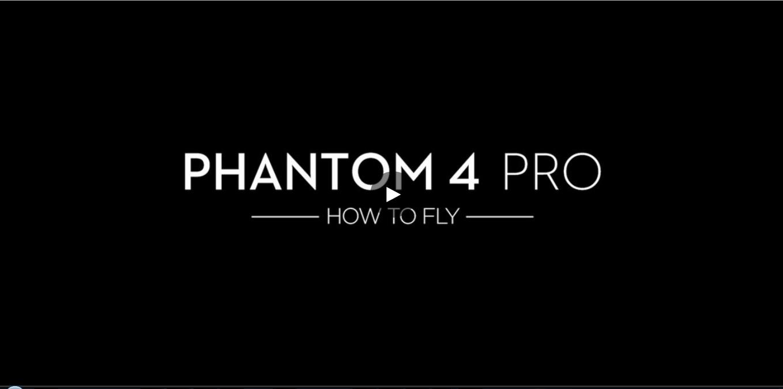 DJI – Phantom 4 Pro – How to Fly – Safe Flight Advice
